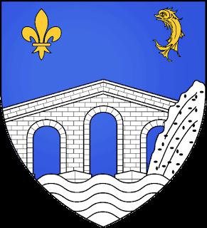 Pont du fleuve Eridan  Blason_lesRochesdeCondrieu