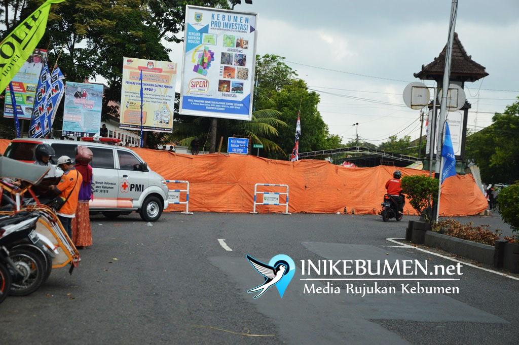 Gara-gara Road Race, Kawasan Alun-alun Kebumen Ditutup Selama Dua Hari