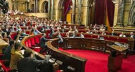 Le parlement catalan