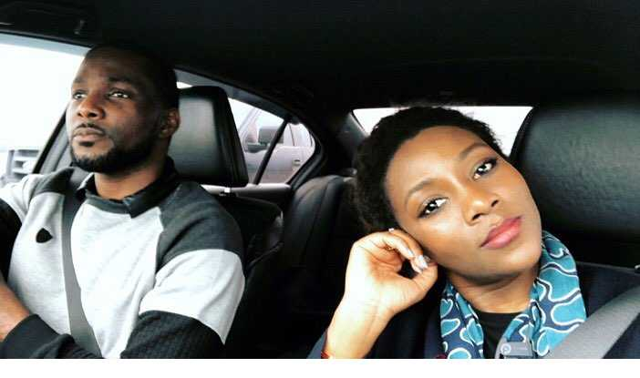 Genevieve Nnaji Shows Off The Man In Her Life