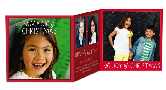 Tri-Fold Holiday Cards