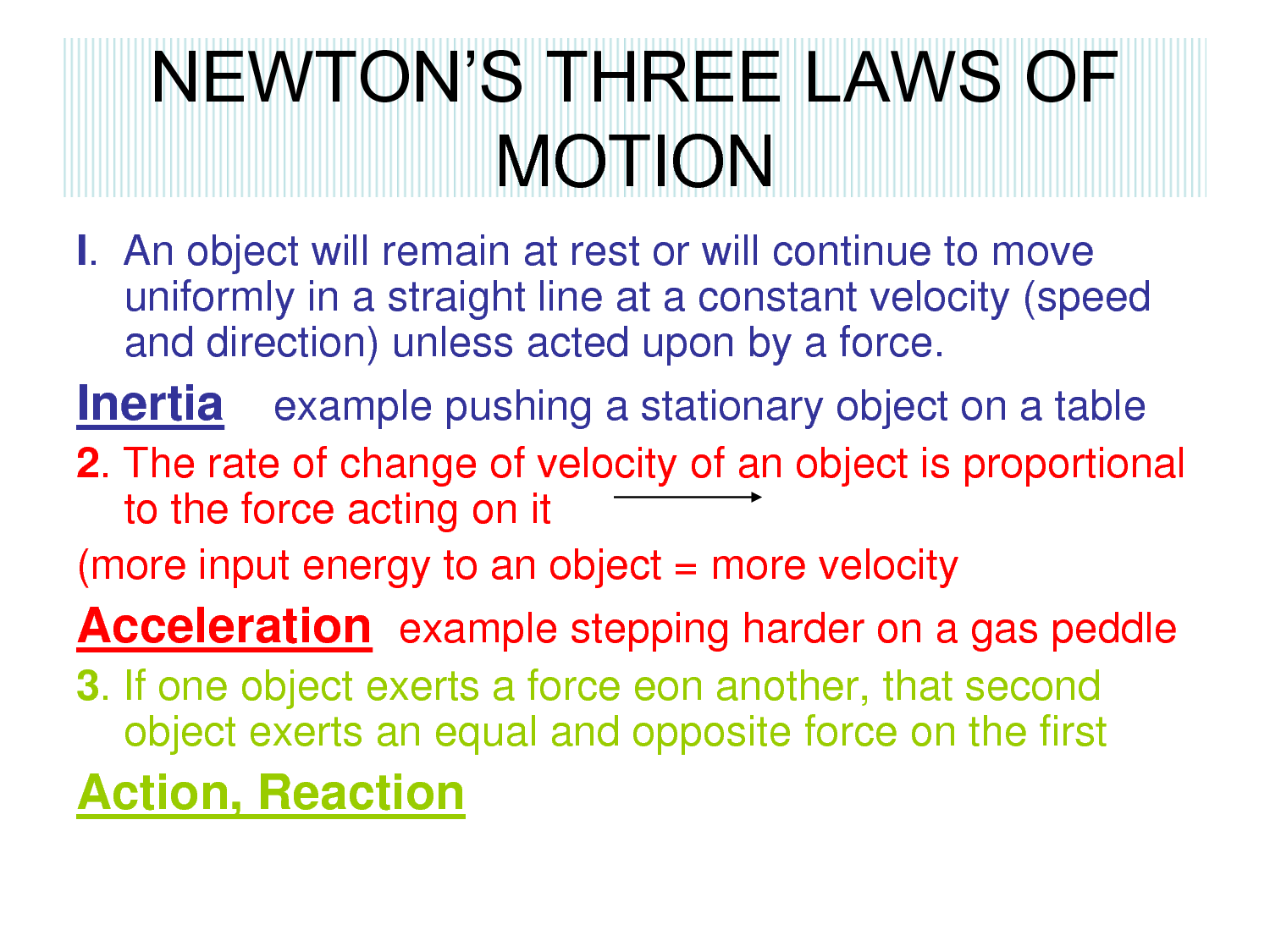 6th Grade Science 4th Six Weeks Wk 5 Motion Amp Forces