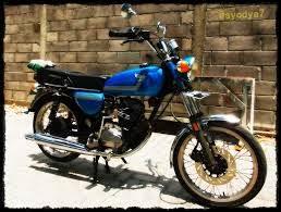 dibawah ini semakin berarti di mata bikers yang menyukai tunggangan yang sudah berusia la Motor-Motor Jadul Honda Ini Semakin Banyak Peminatnya