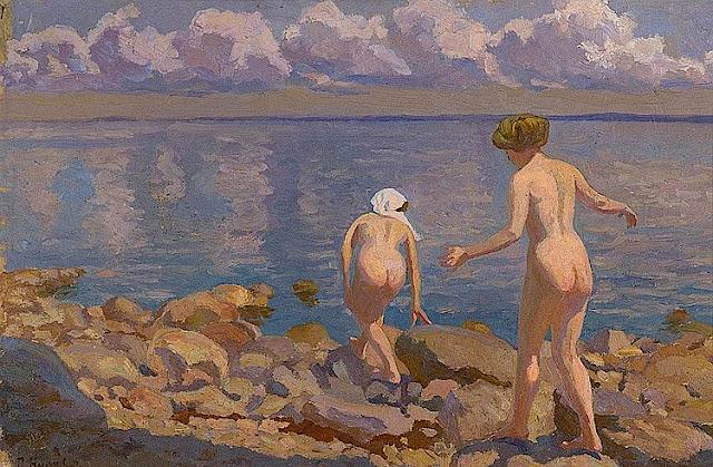 Pyotr Nilus: Bagnanti