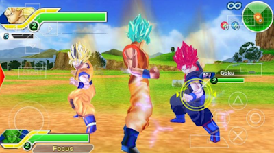 Download Dragon Ball Tag VS PPSSPP ISO