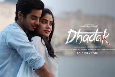 Dhadak Movie Release Date, Dhadak Movie Star Cast