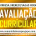 AVALIAÇÃO CURRICULAR PARA AUXILIAR DE PRODUÇÃO ATUAR EM GOIANA PERNAMBUCO