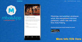 Dapatkan informasi Penginapan dan promo melalui Aplikasi MboisApp