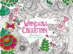 Wonders of Creation: An Adult Coloring Book Review