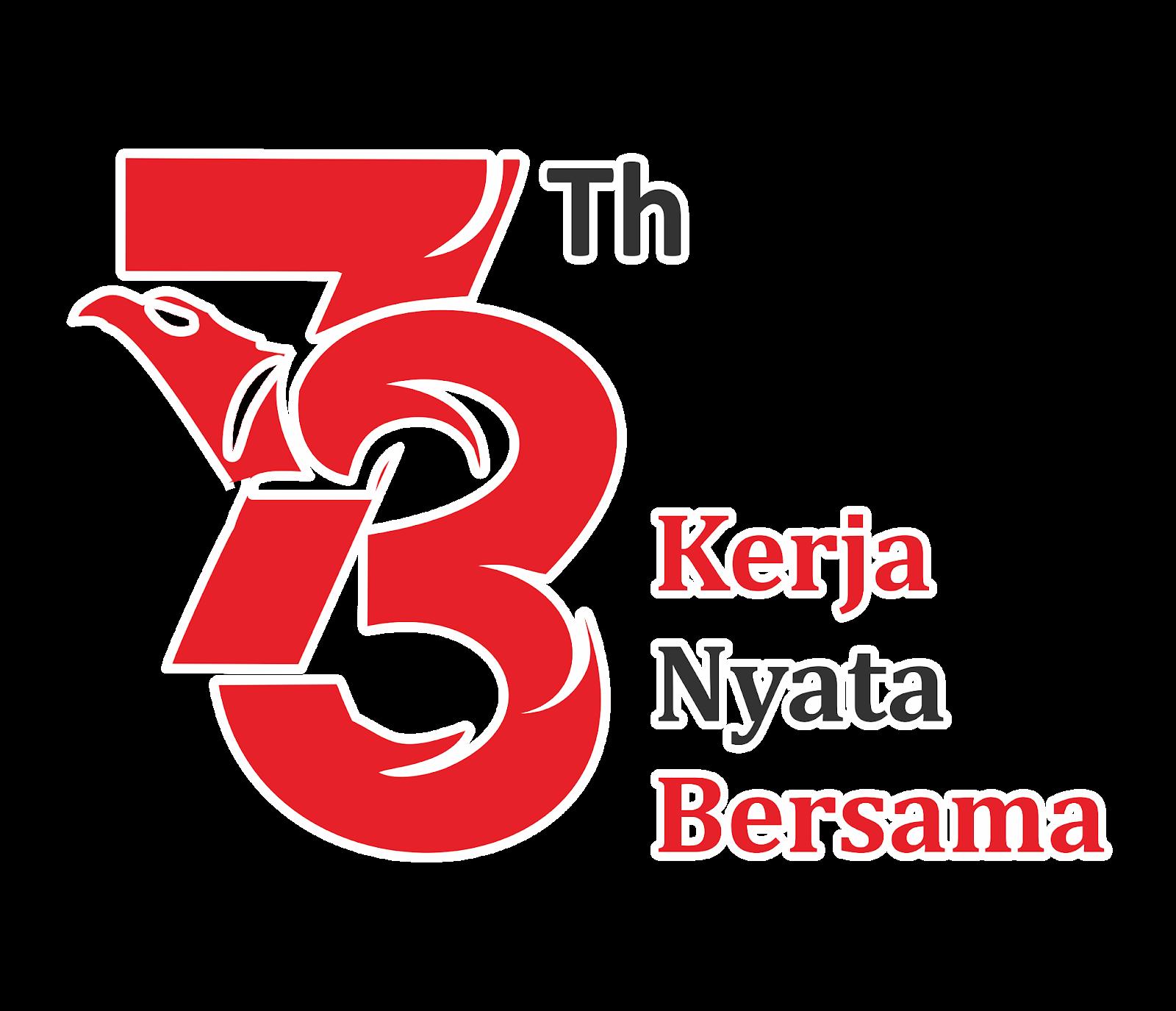 Logo HUT RI Ke 73 Tahun PNG HD DODO GRAFIS