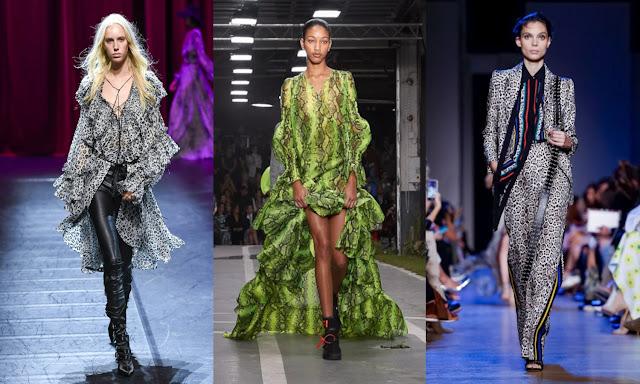 animal print fashion trend Redemption, Off-White, Elie Saab