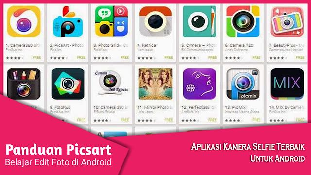 Aplikasi Kamera Selfie Android