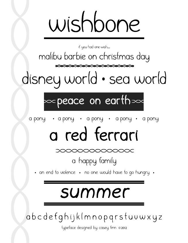 wishbone font free download