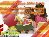 Download Contoh RPPH PAUD Model Pembelajaran Kelompok Terbaru K13 RPPH Minggu 22
