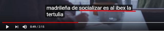 tercer vídeo de la web de FITUR con subtitulado ibex