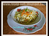 Resep Mie Tumis Sayuran ( Vegetable Stir Fry Noodles Recipe )