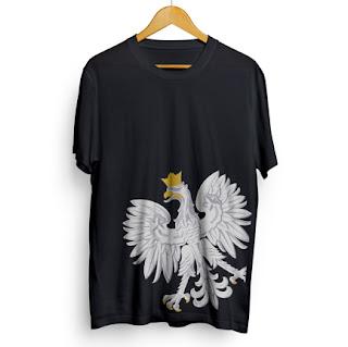 koszulka z polskim orłem