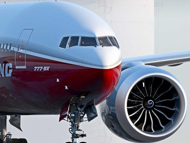 Boeing 777-9x Jetliner
