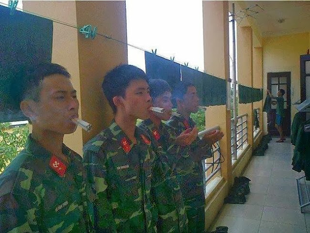 hình phạt trong quân đội