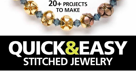 Book review: Quick & Easy Stitched Jewelry