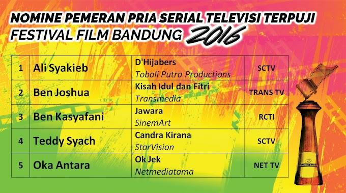 DAFTAR LENGKAP NOMINASI PENGHARGAAN FESTIVAL FILM BANDUNG 2016