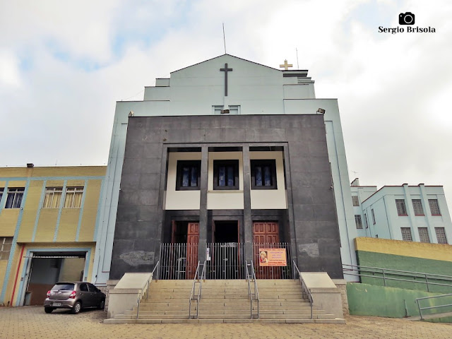 Vista ampla da Paróquia São João Batista - Ipiranga - São Paulo
