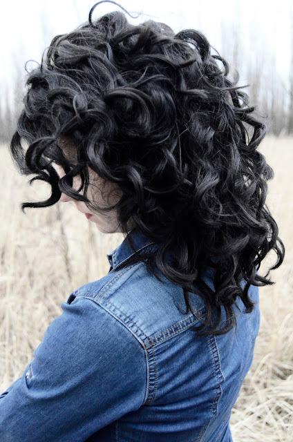 podsumowanie metody CG | loki | włosy | kręcone | czarne | zima
