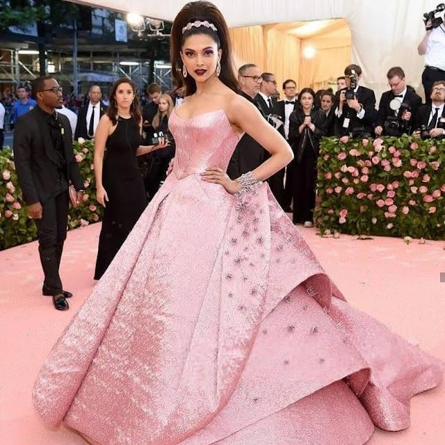 Deepika Padukone Wears Zac Posen at MET GALA 2019