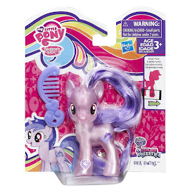 MLP Pearlized Singles Wave 3 Sea Swirl Brushable Figure