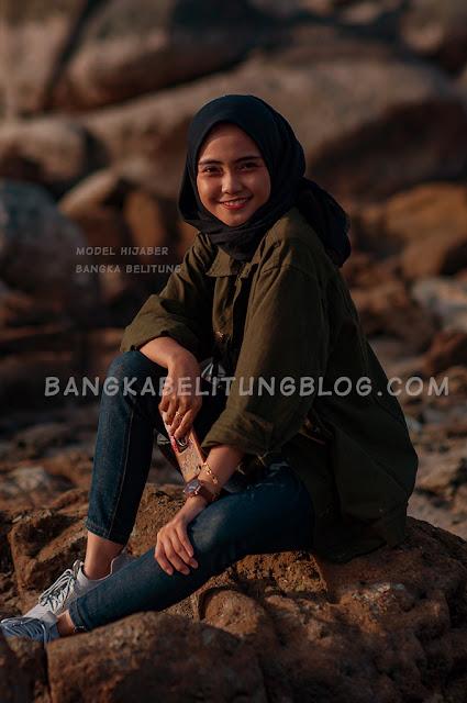 model-hijab-bangka-belitung