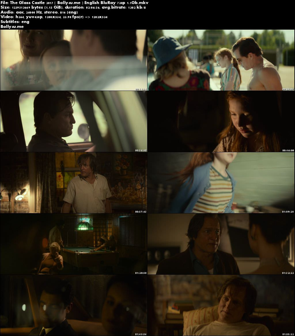 The Glass Castle 2017 BluRay 350MB Full English Movie Download 480p