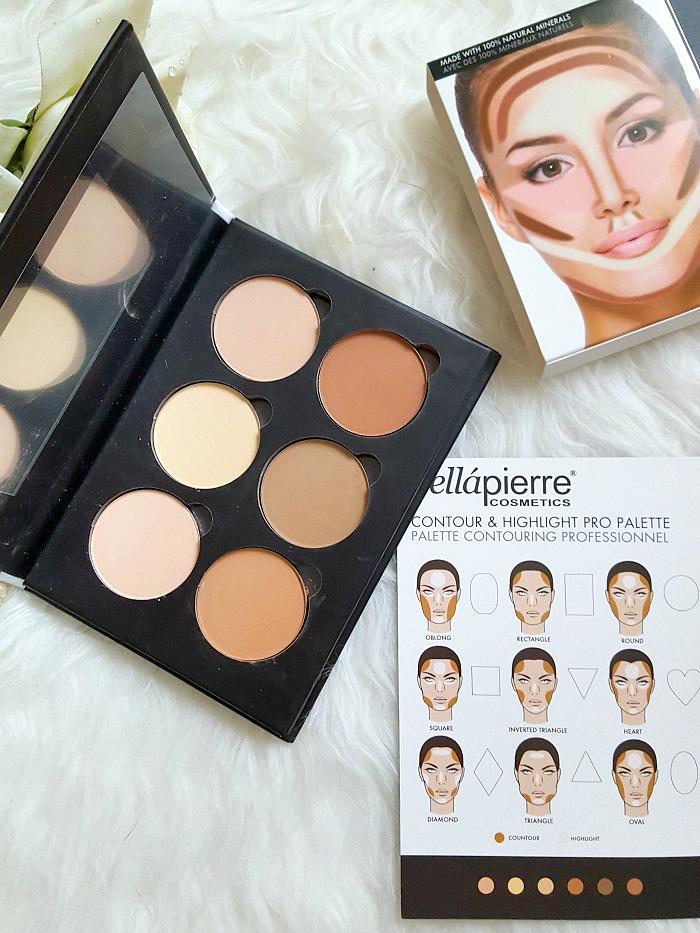 bellàpierre cosmetics - Contour & Highlight Pro Palette review 2