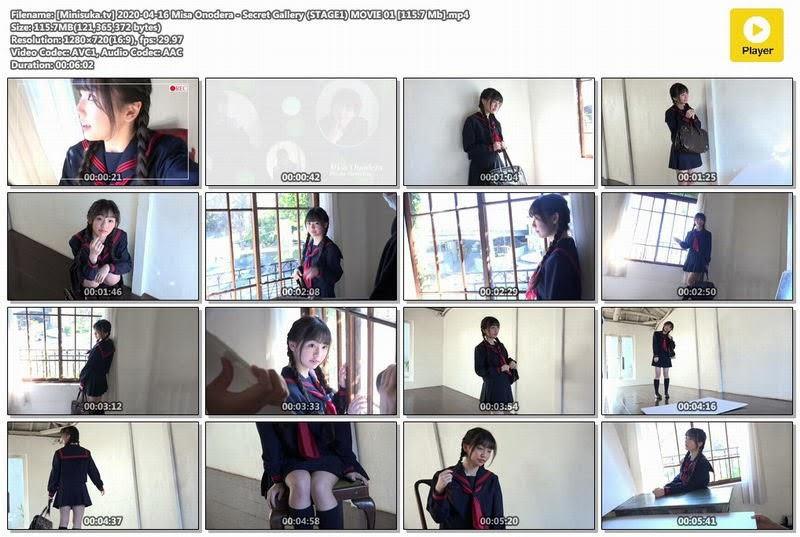 [Minisuka.tv] 2020-04-16 Misa Onodera - Secret Gallery (STAGE1) MOVIE 01 [115.7 Mb] - idols