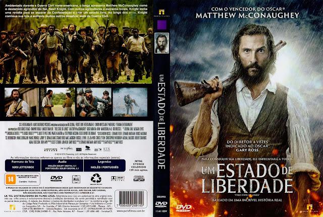 Capa DVD Um Estado De Liberdade