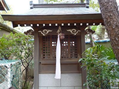 八ツ原稲荷神社祠
