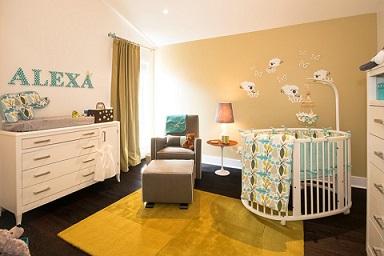 Decoración de un dormitorio para bebé - Colores en Casa