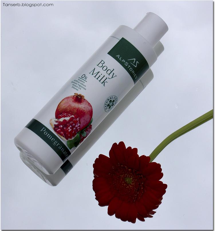 Молочко для тела Гранат AlpStories Body Milk Pomegranate