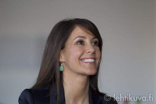 Princess Marie as patron of the AIDS Foundation