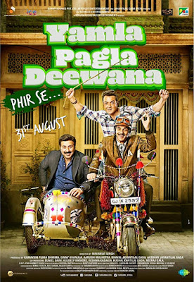 Yamla Pagla Deewana Phir Se 2018 480p Movie Download