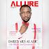 Dare Art Alade covers vanguard allure Valentine issue