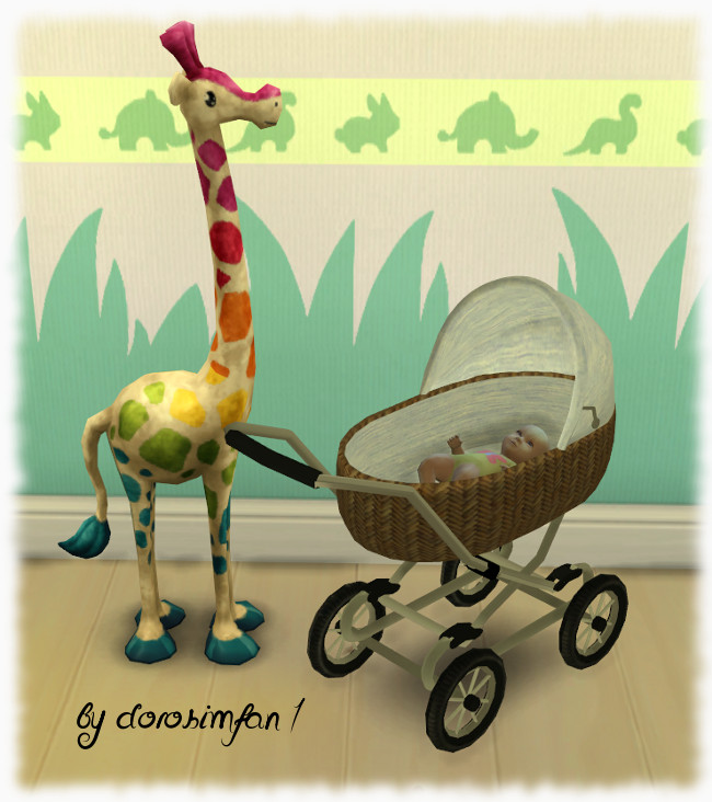 Sims Marktplatz S4 Kinderwagen