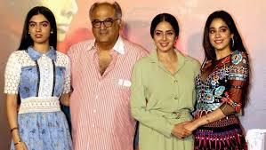 Jhanvi Kapoor Family