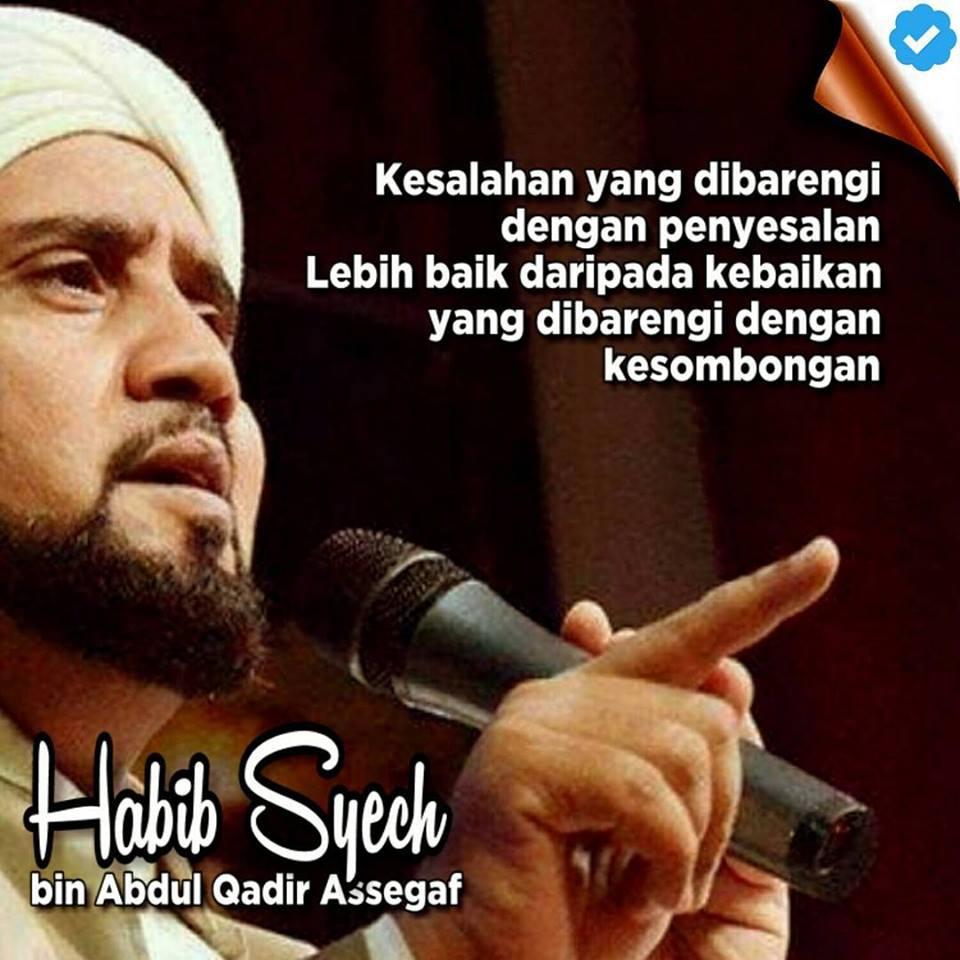 Mutiara Nasehat Habib Syech Bin Abdul Qadir Assegaf Meme Comic