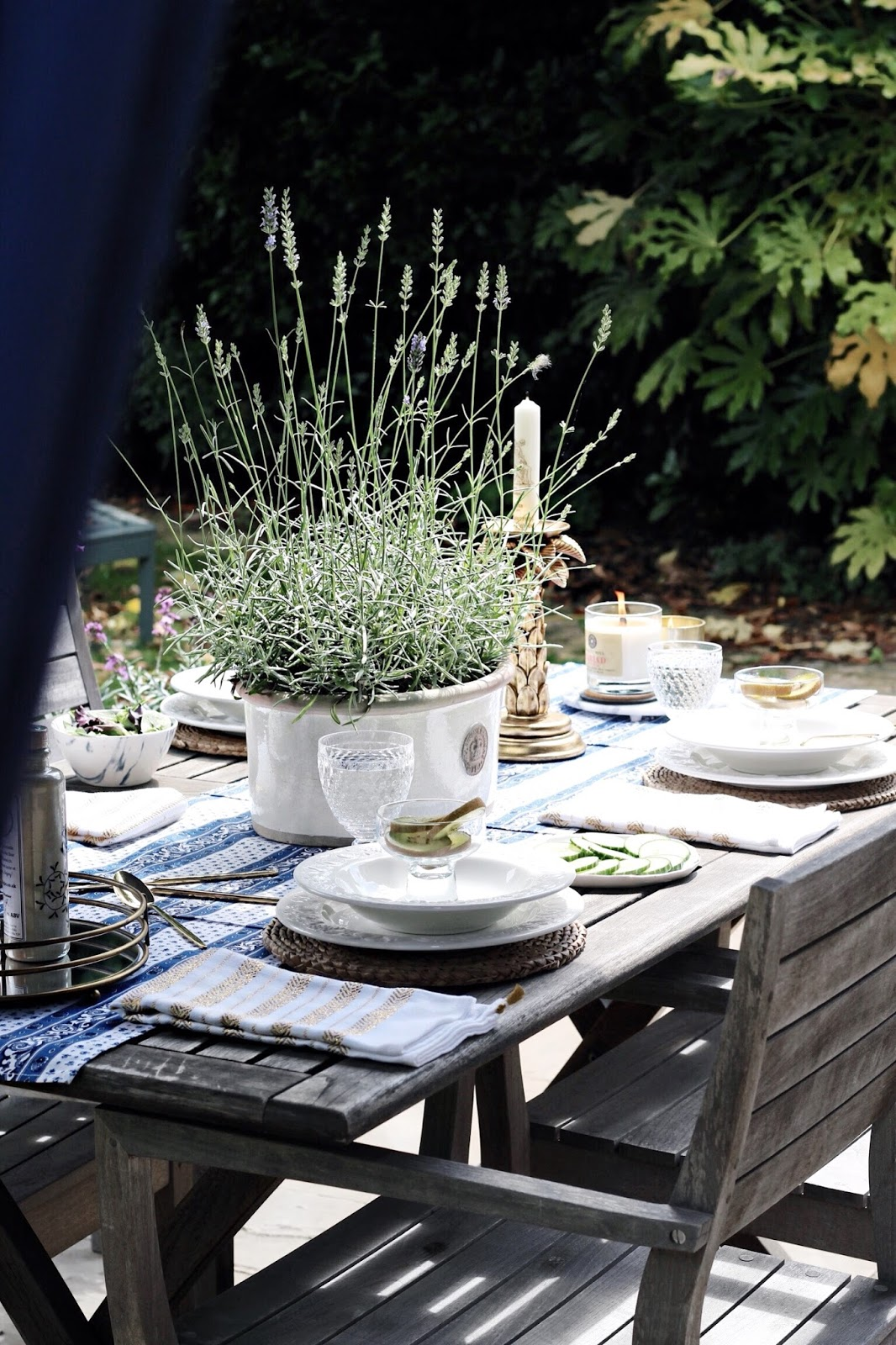 Al Fresco Summer Dining Blog Photography