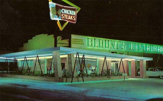 American Restaurants C Cafes And Diners Of The S And S
