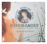 Goddess Garden organic skincare