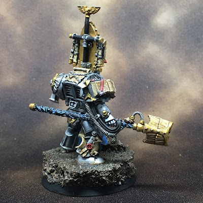 Grey Knight Brother Librarian Right Side