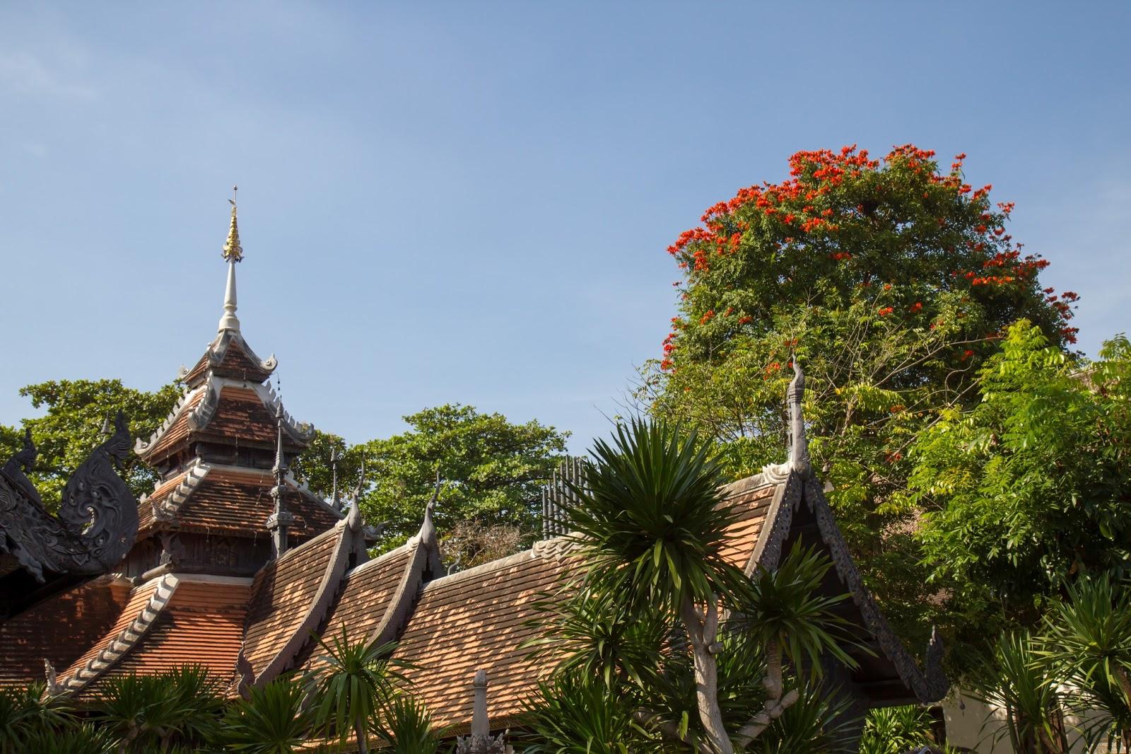 Wat Chedi Luang Worawihan in Chiang Mai, Thailand