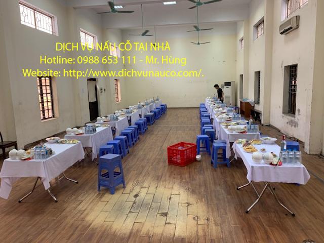 Dịch vụ nấu cỗ ở Vĩnh Hưng  - địa chỉ nấu cỗ ngon hoàng mai