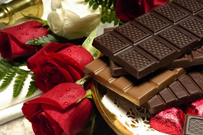 chocolate-with-roses